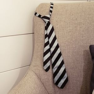 Boys striped neck tie  4-8 yrs old